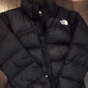 The North Face Nuptse puffer coat size M
